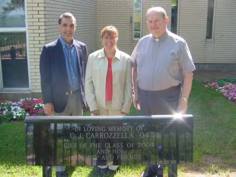 Chris Carrozzella, Lisa Ferraro, & Brother William